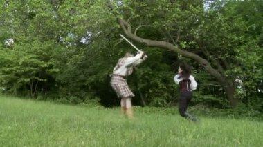 Combat à l'épée — Vidéo