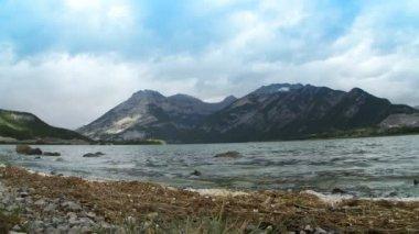 Lac des Arcs — Stock Video
