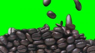 Coffee Fill Green — Stock Video