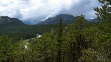 Banff scenic — Stock Video