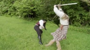 剑战斗 — 图库视频影像