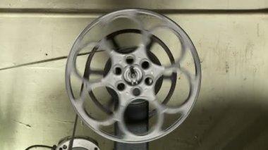 Bobina de filme — Vídeo Stock