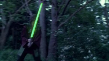 Light Sabers — Stock Video
