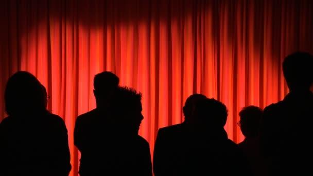 Rideaux de théâtre — Vidéo