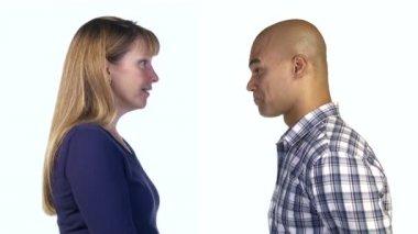 Man and Woman Agree — 图库视频影像