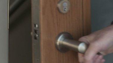 Opening Doors — Stock Video