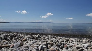 Yellowstone Lake — Stock Video