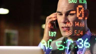 Laptop Trader Guy — Stock Video