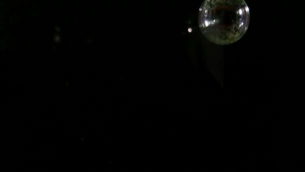 Burbujas blancas — Vídeo de stock