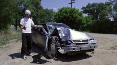 Teen Crash — Stok video