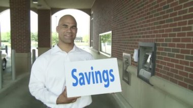 Evaporating Savings — Stock Video