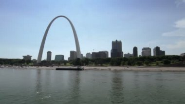 St Louis Arch — Stock Video