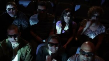 Film Audience — Stock Video