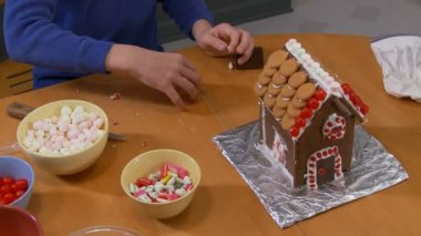 Gingerbread Houses — Stock Video