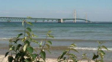 Mackinac Bridge — Stock Video