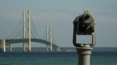 Mackinac Bridge — Stock Video