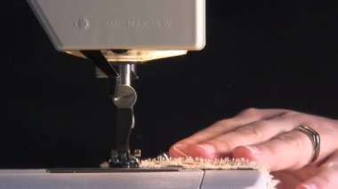 Sewing Machine — Stock Video