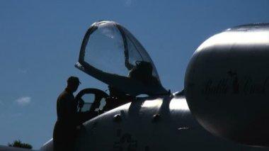 Aircrew at Cockpit — Stock Video