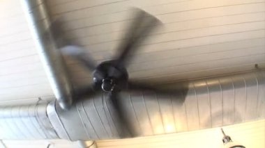 Ceiling Fan — Stock Video