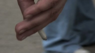 Cigarette — Stockvideo