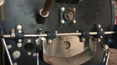 Coffee Oven Roasting — Stock Video