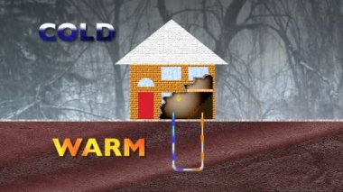 Geothermal Heating — Stock Video