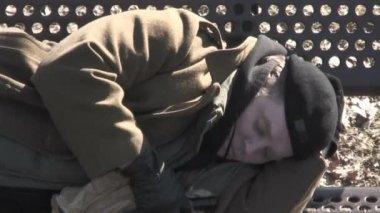 Sleeping Rough — Stock Video