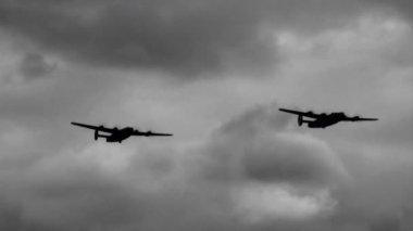 B-24 Liberators — Stock Video