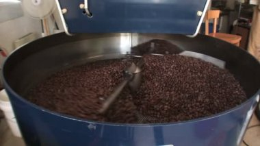 Coffee Beans Roasted — Stock Video