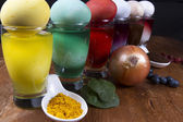 Natural Dyes — Stockfoto