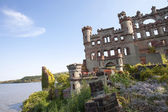 Ruins of Castle by River — Stock Photo