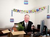 Surprised Retiree — Stock Photo