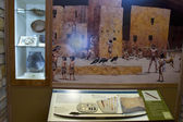 Artifacts and Mural in Mesa Verde National Park — Stock Photo