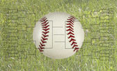 64 Team Baseball Bracket — Stock Photo