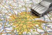 Driving in London — Foto Stock