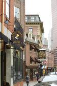 исторический ресторан tavern в бостоне — Стоковое фото