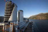 Cruising the Norwegian Fjords — Stock Photo