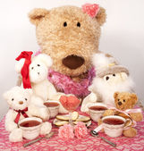 Tea with Friends — Stock Photo