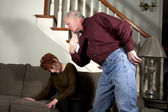 Domestic Abuse — Stock Photo
