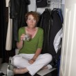 Closet Drinker Surprised — Stock Photo #50027153