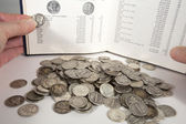 Coin Collecting — Stock Photo