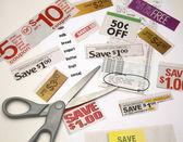 Saving on Groceries — Stock Photo