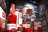 Coke World Memorabelia — Stock Photo