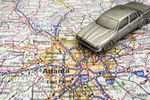 Driving to Atlanta — Stock Photo