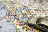 Driving to San Francisco — Stock Photo
