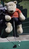 Golfista — Stock fotografie