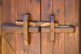 Latch timber — Stock Photo
