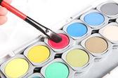 Pittura di colore — Foto Stock