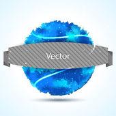 Abstraktní akvarel tvar — Stock vektor