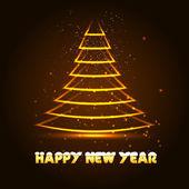 с новым годом с елки, — Cтоковый вектор